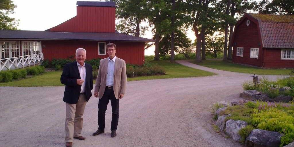 Julita värdshus 2010-06-23. Göran Dahlström & Conny Petrén